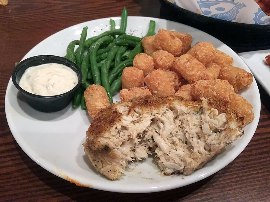 Ocean City Brewing Company Crab Cake Platter