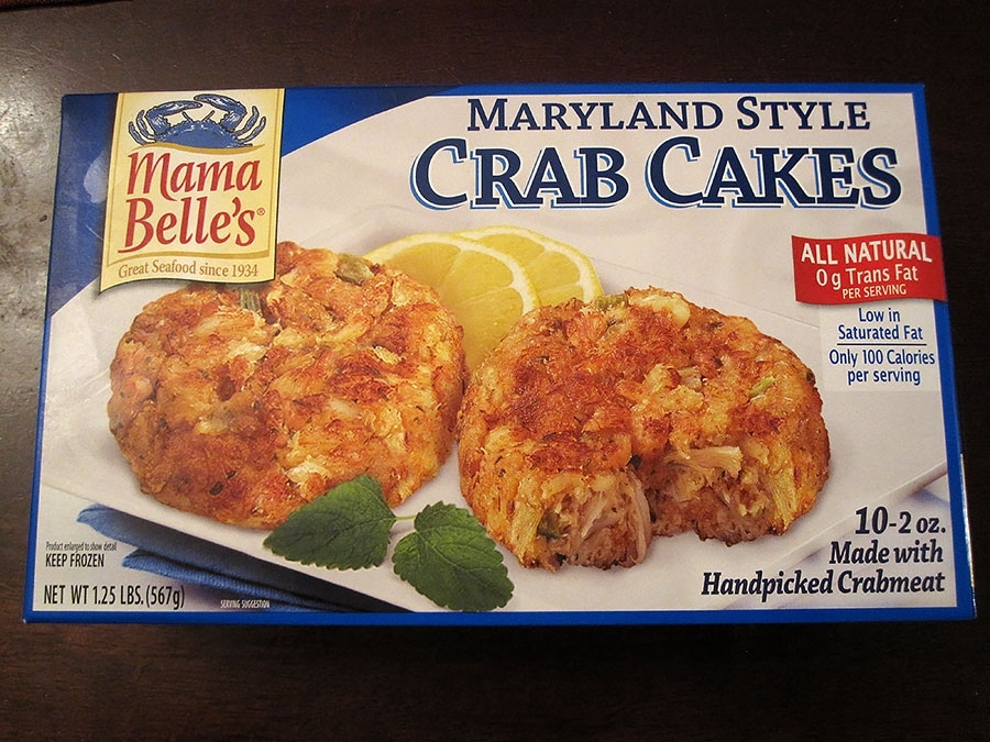 Mama Belle's Maryland Style Crab Cakes