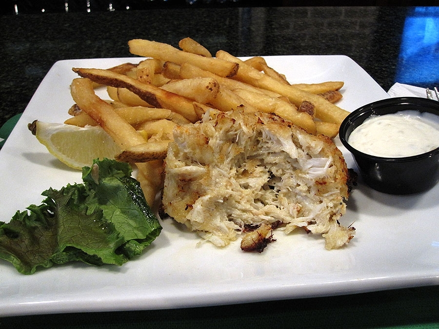 The Green Turtle's Maryland Crab Cake
