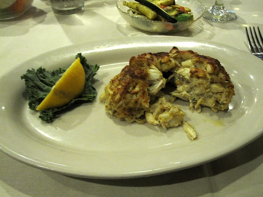The Bayou Crab Cake