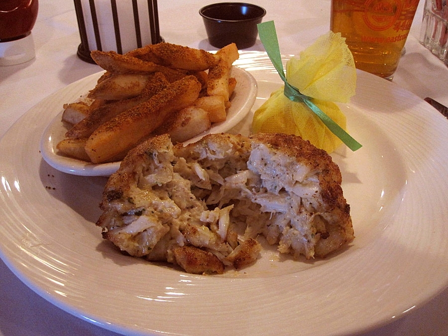 Jimmy's Famous Seafood Crab Cake