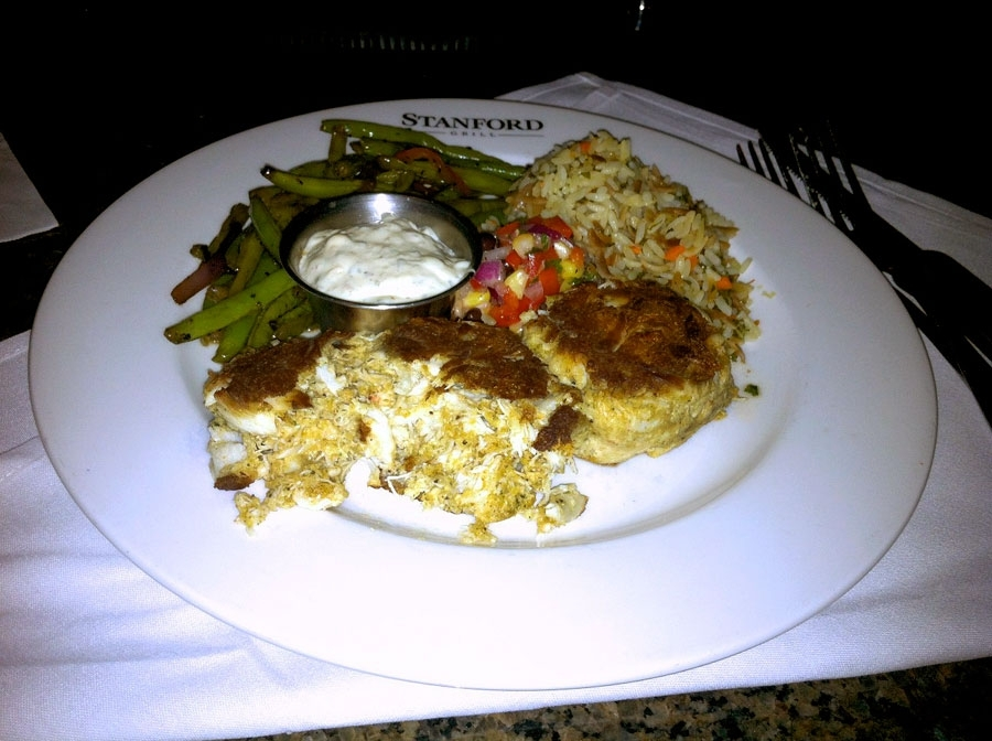 Stanford Grill Maryland Crab Cakes