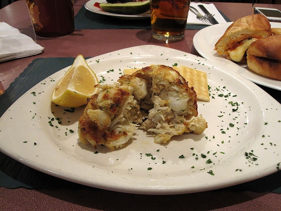 Costa's Inn Crab Cake