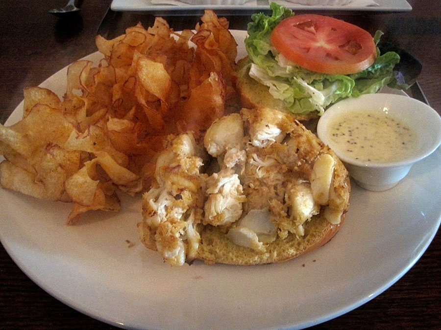 Alchemy Crab Cake Sandwich